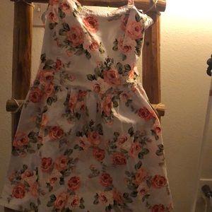 Forever 21 sun mini dress floral